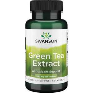 Swanson Green Tea Extract 500 mg 60 Capsules