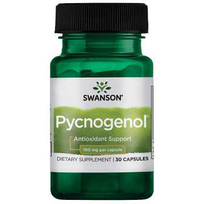 Swanson Pycnogenol 100 mg 30 Capsules.