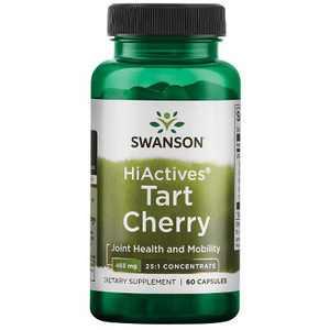 Swanson Hiactives Tart Cherry 465 mg 60 Capsules.