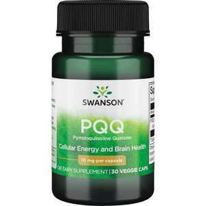 Swanson Pqq Pyrroloquinoline Quinone 10 mg 30 Veggie Capsules.