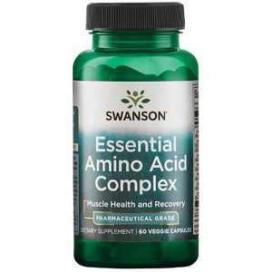 Swanson Essential Amino Acid Complex - Pharmaceutical Grade 60 Veggie Capsules.