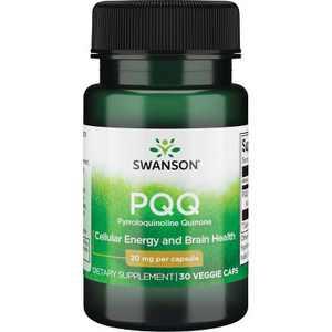 Swanson Pqq Pyrroloquinoline Quinone 20 mg 30 Veggie Capsules.