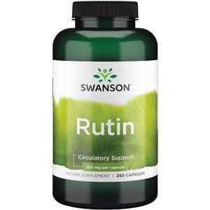 Swanson Rutin 250 mg 250 Capsules.