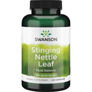 Swanson Stinging Nettle Leaf Capsules, 800 mg, 60 Count.