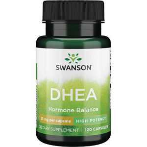 Swanson Dhea 25 mg 120 Capsules.