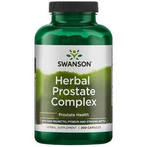 Swanson Herbal Prostate Complex Herb Blend Capsules, 100 Count