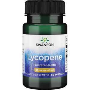 Swanson Lycopene 20 mg 60 Softgels.