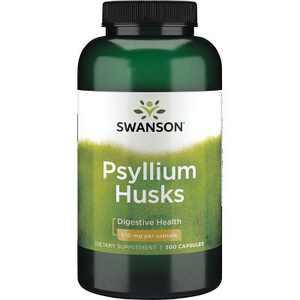 Swanson Psyllium Husk Capsules, 610 mg, 300 Count