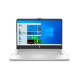 """HP 14"""" Laptop with Windows 10 Home in S mode - Intel Core i3 11th Gen Processor - 4GB RAM Memory - 128GB SSD Storage - Silver (14-dq2031tg)"""