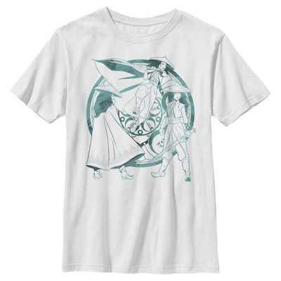 Fifth Sun Kids Slim Fit Short Sleeve Crew Graphic Tee - White Medium