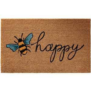 "Nourison Casa Bella NC461 Bee Happy Door Mat - Multicolor 1'6""X2'6"""