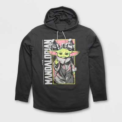Men's Star Wars Lightweight Graphic Hooded Sweatshirt - Black
