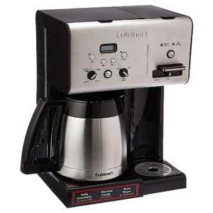 Cuisinart CHW-14 Stainless Steel 10 Cup Programmable Drip Coffeemaker and Hot Water System with Insulated Thermal Carafe for Coffee and Tea Drinkers