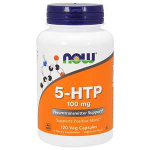 NOW Foods Dietary Supplements 5-Htp 100 mg Capsule 120ct