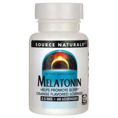 Source Naturals Melatonin 2.5 mg Lozenge - Orange 60ct