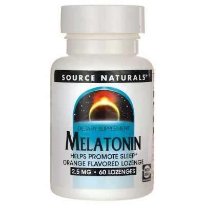Source Naturals Melatonin 2.5 mg Lozenge - Orange 60ct