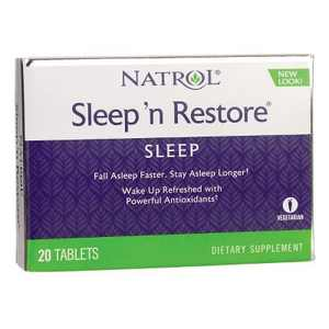 Natrol Dietary Supplements Sleep'N Restore Tablet 20ct