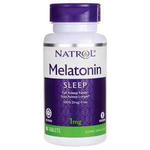 Natrol Dietary Supplements Melatonin Time Release 1 mg Tablet 90ct.