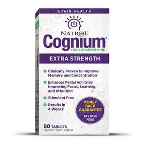 Natrol Dietary Supplements Cognium Extra Strength Tablet 60ct