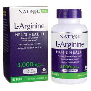 Natrol Dietary Supplements L-Arginine 3,000 mg Tablet 90ct.