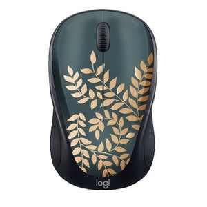 Logitech M317 Mouse - Golden Garden