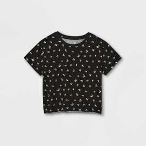 Girls' Boxy Short Sleeve T-Shirt - art class