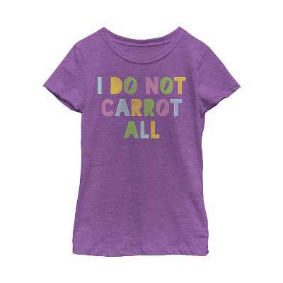 Girl's Lost Gods Easter Carrot At All T-Shirt