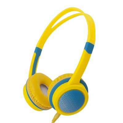 Insten Kids Headphones Wired 3.5mm On-Ear Earphones with 85dB Safe Volume Limited for Boys Girls Children, Yellow