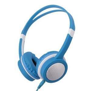 Insten Kids Headphones Wired 3.5mm On-Ear Earphones with 85dB Safe Volume Limited for Boys Girls Children, Blue