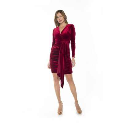 Alexia Admor Juliana Draped Dress