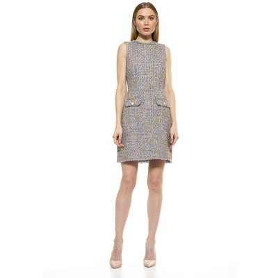 Alexia Admor Klara Tweed Dress