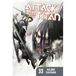 Attack on Titan 33 - by Hajime Isayama (Paperback)
