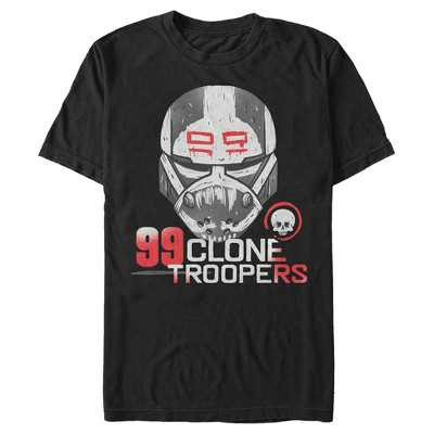 Men's Star Wars: The Bad Batch 99 Clone Troopers T-Shirt