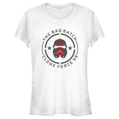 Junior's Star Wars: The Bad Batch Clone Force 99 Badge T-Shirt
