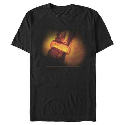 Men's The Lord of the Rings Fellowship of the Ring One Ring T-Shirt