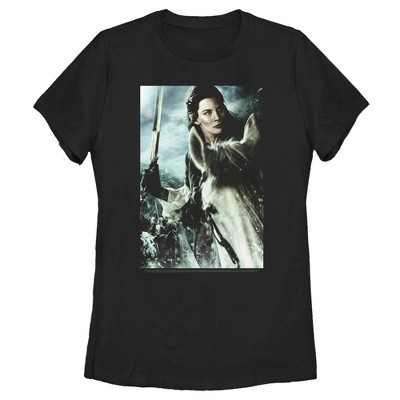 Women's The Lord of the Rings Fellowship of the Ring Arwen Poster T-Shirt