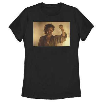 Women's The Lord of the Rings Fellowship of the Ring Frodo Last Look T-Shirt