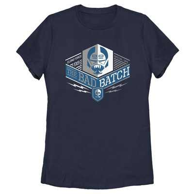 Women's Star Wars: The Bad Batch Square Logo T-Shirt