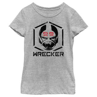 Girl's Star Wars: The Bad Batch Wrecker T-Shirt