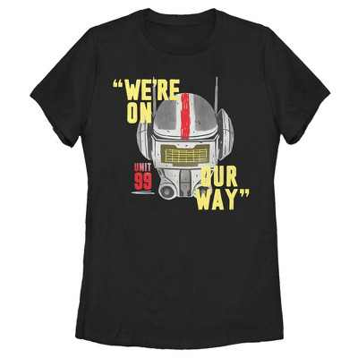 Women's Star Wars: The Bad Batch We're On Our Way T-Shirt