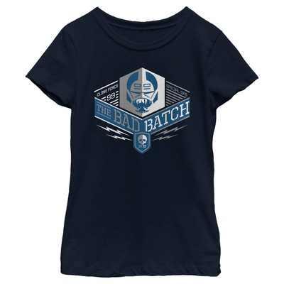 Girl's Star Wars: The Bad Batch Square Logo T-Shirt