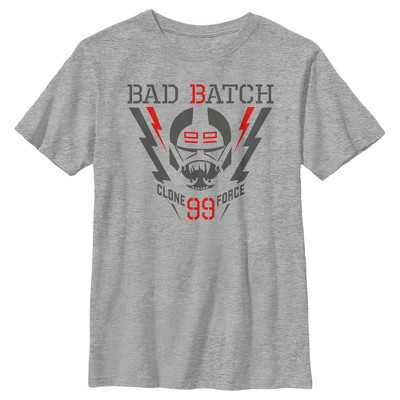 Boy's Star Wars: The Bad Batch Lightning Logo T-Shirt