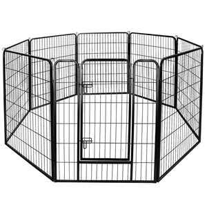 """ZENY 39""""H 8 Panels Heavy Duty Metal Dog Exercise Pen, Outdoor & Indoor"""