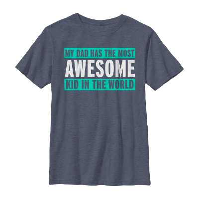 Boy's Lost Gods Father's Day Most Awesome Kid T-Shirt