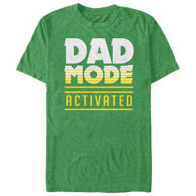 Men's Lost Gods Father's Day Dad Mode Activated T-Shirt