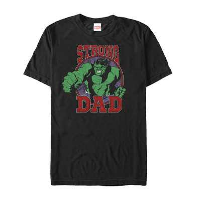 Men's Marvel Father's Day Hulk Strong Dad T-Shirt