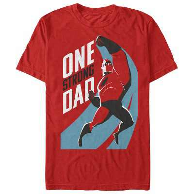 Men's The Incredibles 2 One Strong Dad T-Shirt