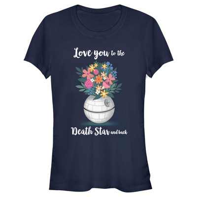 Junior's Star Wars Mother's Day Love You to the Death Star and Back T-Shirt