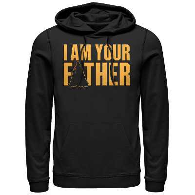 Men's Star Wars Father's Day Vader is Your Father Pull Over Hoodie