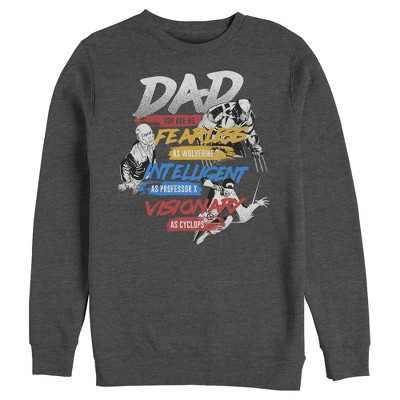 Men's Marvel X-Men Dad Traits Sweatshirt